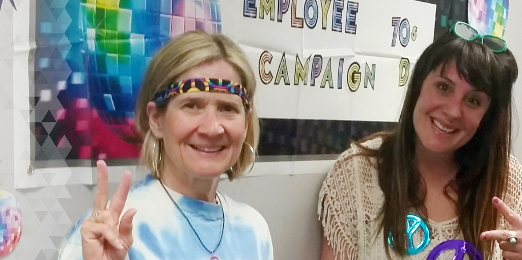 Employee 70's Campaign Day