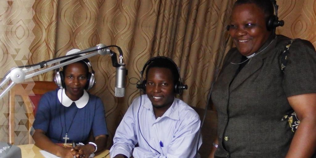 The BCC team on air.