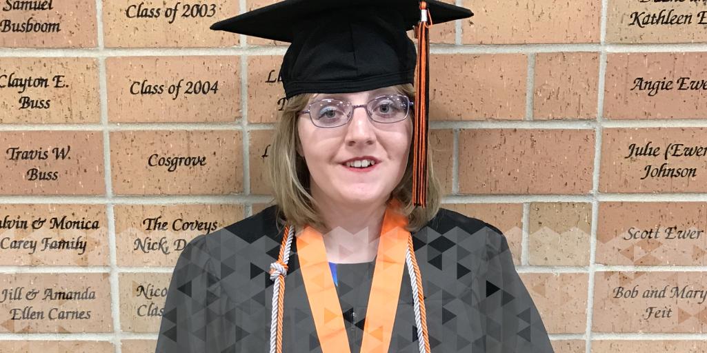 Abbey Glaser at Graduation