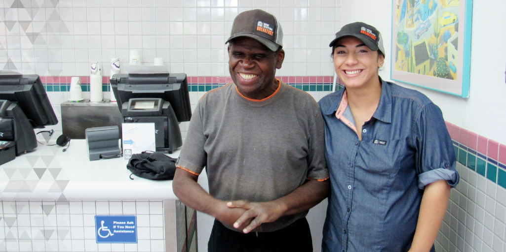 Elmer at Taco Bell