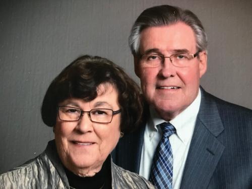 Ruth and Virgil Johnson