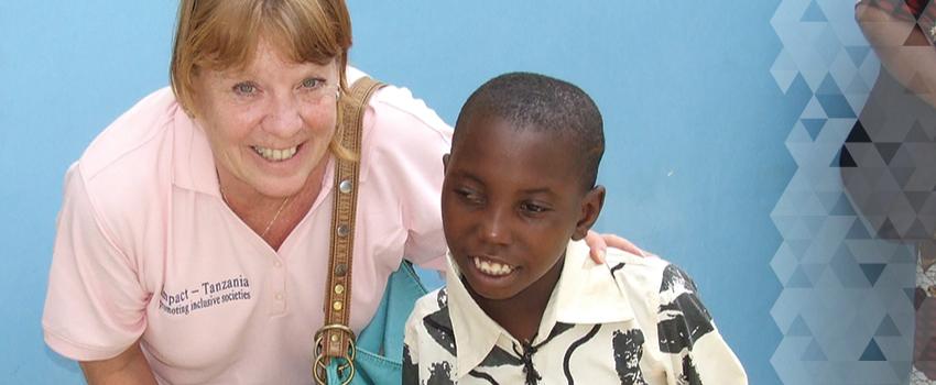 Susie O'Kane in Tanzania