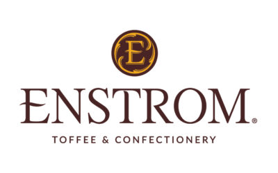 Enstrom logo displays the word