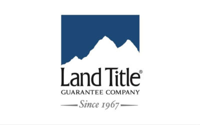 Land Title logo displays the words