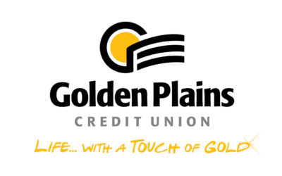 Golden Plains Credit Union Logo. Live life with a touch of gold!