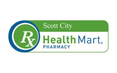 RX Scott City Health Mart Pharmacy Logo